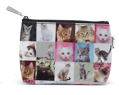 """Catseye London """"Cats"""" Design Make Up, Cosmetic or Accessories Bag"""