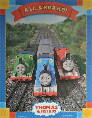 THOMAS AND FRIENDS POSTER All Aboard Collage 24X36
