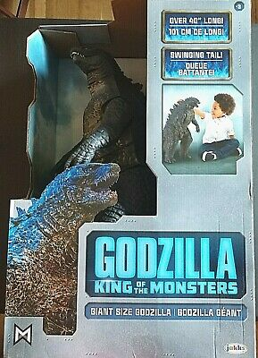 "Jakks Pacific Giant 40"" Long Godzilla 2019 Movie King Of The Monsters 24"" Figure"