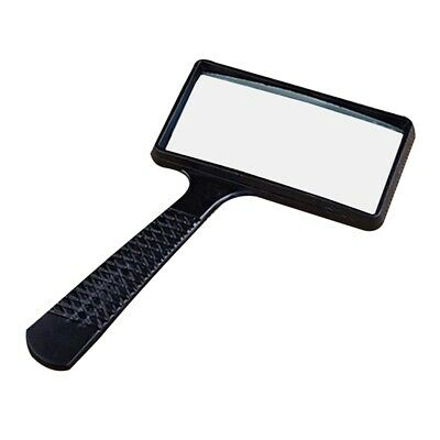 Large Reading 2.5X Magnifying Glass Magnifier Map Book Pocket Light Aid Lens UK