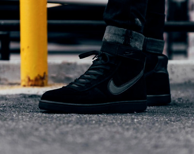 NIKE VANDAL HIGH Supreme Ltr Uk Sizes BlackBlackBlack