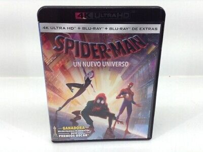Pelicula Bluray Spider-Man Un Nuevo Universo 4K Ultra Hd 4713186
