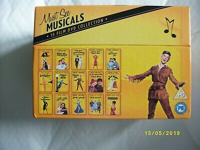 Must-See Musicals Collection dvd box set