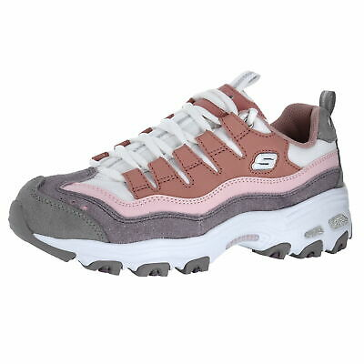 0e1a3ecb09c54 Skechers D Lites Sure Thing White/Natural Womens Training Shoe Size 11M