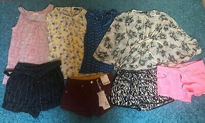 Bundle Womens Clothes Size 8 Topshop White Stuff Oasis Wallis Summer Shorts