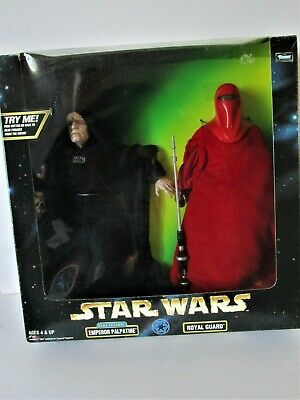 "Star Wars ROTJ  "" EMPEROR PALPATINE & ROYAL GUARD""  2-PACK Kenner"