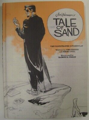 Tale Of Sand Illustrated Screenplay Jim Henson Archaia Hc Book 1St Print 2014 Nm