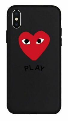 promo code 01867 aa58d NEW FASHION COUPLE Comme Des Garcons Clear Case iPhone XsMax - $7.99 ...