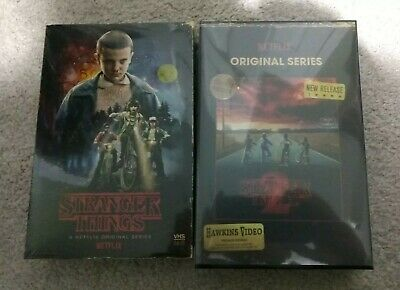 Stranger Things-Season 1 and Season 2 Collector Edition(Blu-ray+DVD+Poster)*New*