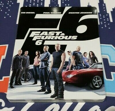 Fast & Furious 6 Extended Edition (Blu-ray Disc, SteelBook No Digital Codes)