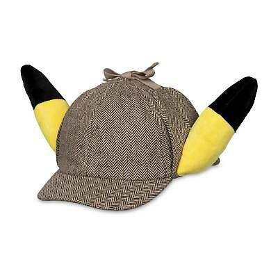 Pokemon Original Detective Pikachu Ears Hat Cap 20th Anniversary