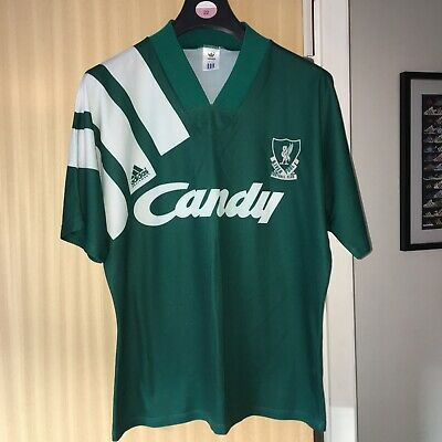 dda5056860f Adidas Equiptment Liverpool Away Shirt 1991-1992 Candy Size 42-44 (M