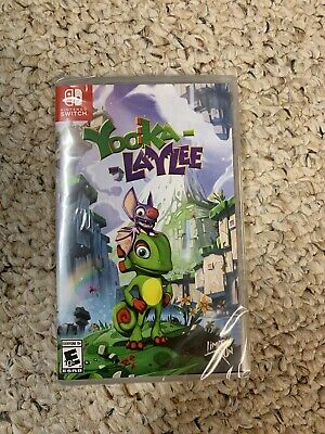 Limited Run Games Yooka-Laylee (Nintendo Switch, 2018) Brand New Factory Sealed!