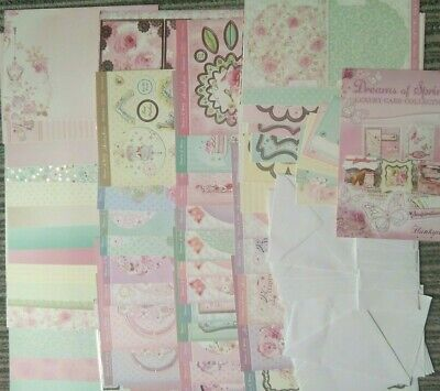 Hunkydory ~ Luxury Card Collection ~ Dreams of Spring ~ Complete with Envelopes