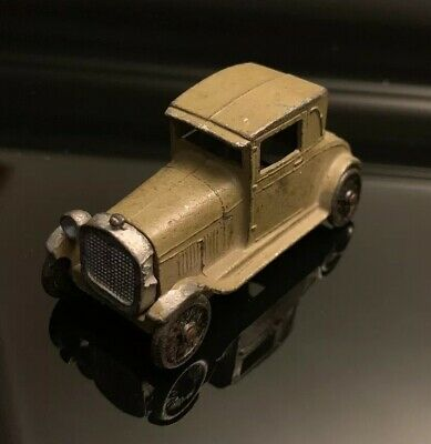 Vintage Unrestored Diecast TOOTSIE TOY 1928 FORD MODEL A Brougham Coupe Promo?