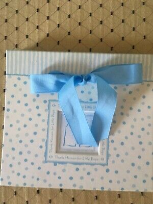 New C R Gibson Fine Gifts Since 1870 Thank Heave For Little Boys Photo Album Blu
