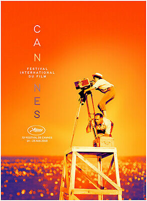 AFFICHE FESTIVAL CANNES 2019 ROULEE 60x40 Movie Poster AGNES VARDA