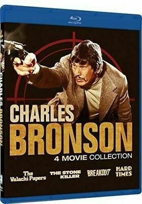 Charles Bronson Collection:4 Movie Collection (Blu-ray Disc, 2018) FREE SHIPPING