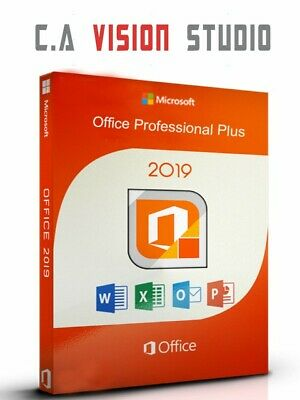 MICROSOFT OFFICE 2019 PROFESSIONAL PLUS 32/64 BIT LifeTime For WINDOWS