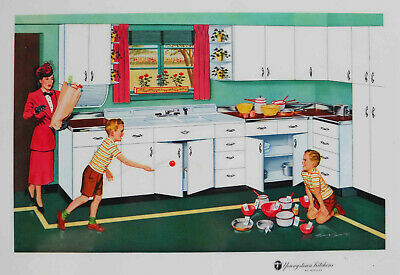 Other Collectible Ads Collectibles 1944 Youngstown Kitchens By Mullins Making Work By Saving Work Ad
