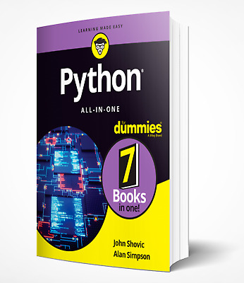Python All-In-One for Dummies - Edition 2019 [7 EB00K] PDF
