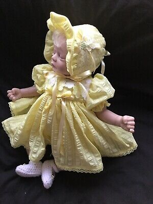 Reborn Doll Dress Set. Lemon 19-21""