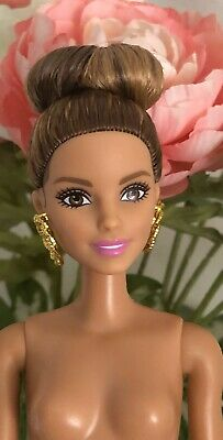 2016 Barbie Fashionistas #50 Emerald Check Doll Nude for OOAK or Custom