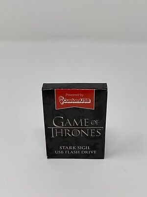 Loot Crate Exclusive Game of Thrones Stark Sigil USB Thumb Flash Drive HBO