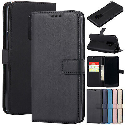 For Samsung A10 Case A50 A70 A30 J4 J6 Wallet Leather Magnetic Flip Stand Cover