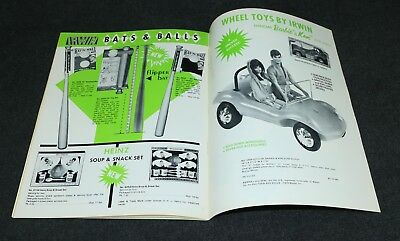 Irwin Toys 1971 Dealer Catalog Barbie Dune Buggy ORIGINAL