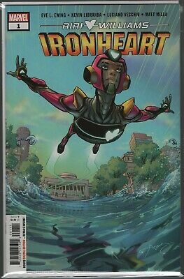 IronHeart #1 cool, hot new character! Get the #1 issue (1st printing) NOW!!