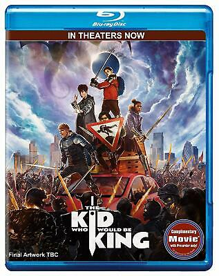 The Kid Who Would Be King(2019) BLU-RAY ONLY!!! FAST SHIPPING!!!