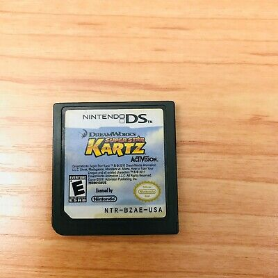 No Game! Madagascar Kartz Replacement Ds Case And Manual Only