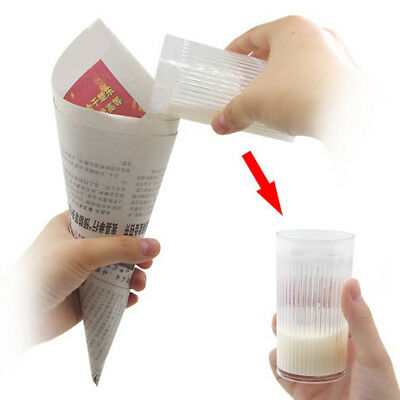 Milk cup magic tricks gimmick milk disappear close-up magic tricks magic p Au