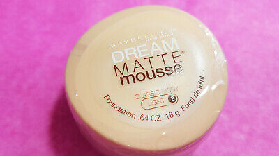 Maybelline Dream Matte Mousse CLASSIC IVORY LIGHT 2