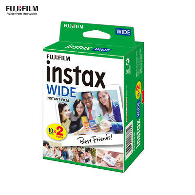 20 Sheets Fujifilm Instax WIDE300 WIDE Camera Instant Film Photo Paper Gift N1R5