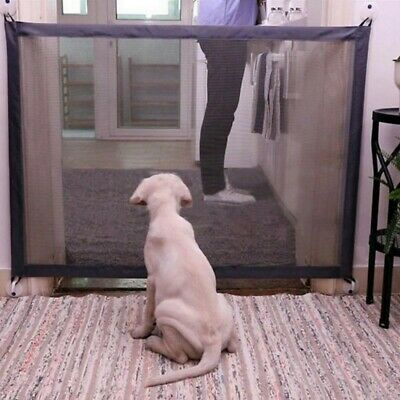 AU  Dog Gate Pet Safety Guard Portable Folding Safe Net for Dog Baby-Enclosure