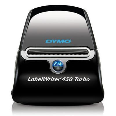 Dymo LabelWriter 450 Turbo Label Thermal Printer - Black BRAND NEW