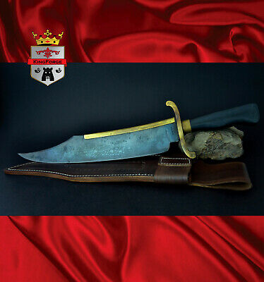 Alamo Musso Bowie Knives, 084A Musso Bowie KingForge, Iron mistress blade weapon