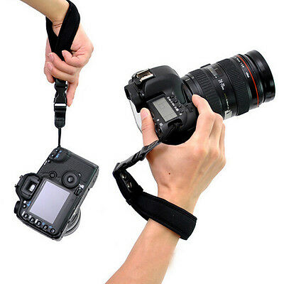 Camera Hand Grip For Canon EOS Nikon Sony Olympus SLR/DSLR Cloth Wrist Strap  Au