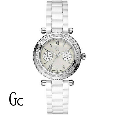 8a05f5b73 Guess Collection I01200L1 Diver Chic Diamond Gc Precious Women's Watch NEW