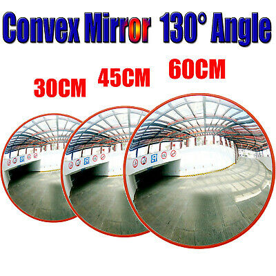 Large Wide Angle Security Curved Convex Road Mirror Traffic Driveway Round Safe