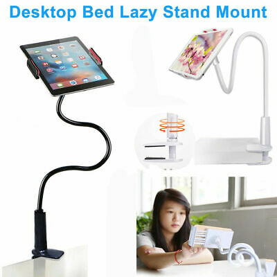 360 Rotating Tablet Stand Holder Lazy Bed Desk Mount For iPad Air iPhone Samsung