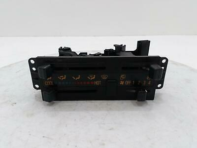 2007 Isuzu NKR Grafter Heater Control Switch Panel