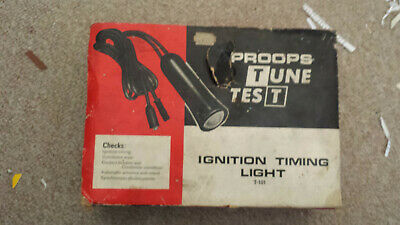 Vintage Proops Tune Test Ignition timing light T101.. FREE UK SHIP