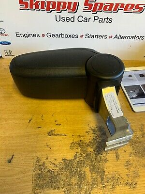 08-12 Audi A3 S Line Black Leather Centre Armrest Clip Intact Genuine 8P0864207B