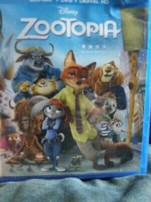 Disney Zootopia blu ray no dvd or digital