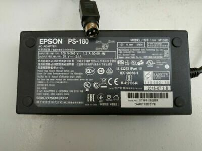 Epson PS-180 Power Supply for most Thermal Receipt Printers 24v 2.1A