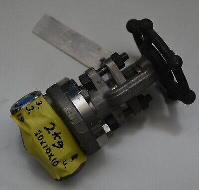 "BONNEY FORGE 130041-0015 1/2"" INC gate valve DN15 15mm WCB Class 800"
