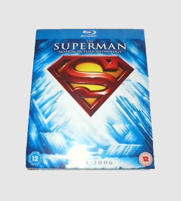 The Complete Superman Motion Collection Picture Anthology Blu-ray [Region free]